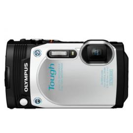 Цифровая фотокамера Olympus TG-870 White (Waterproof-15m; iHS; Wi-Fi; GPS)