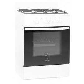 Кухонная плита Greta 600/12 коричневая, чугунная решетка