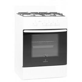 Кухонная плита Greta 600/13 белый, чугунная решетка