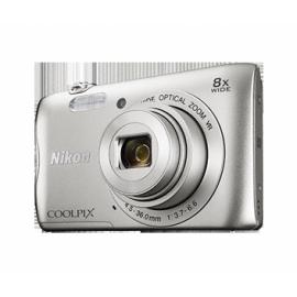 Цифровая фотокамера Nikon Coolpix A300 Silver