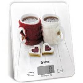 Весы кухонные Vitek VT-2424 White