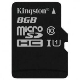 Карта памяти Kingston microSDHC 8 Gb UHS-I no ad U1 (R45, W10MB/s)