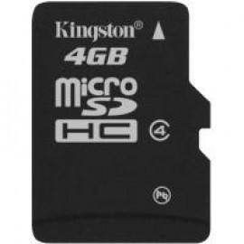 Карта памяти Kingston microSD 4 GB Class 4 no adapter