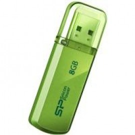 Flash Drive Silicon Power Helios 101 8 GB Green